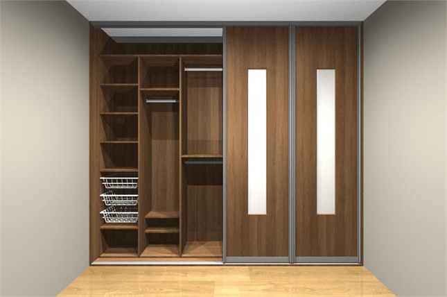 built in wardrobe designs for small bedroom - built in cabinet
