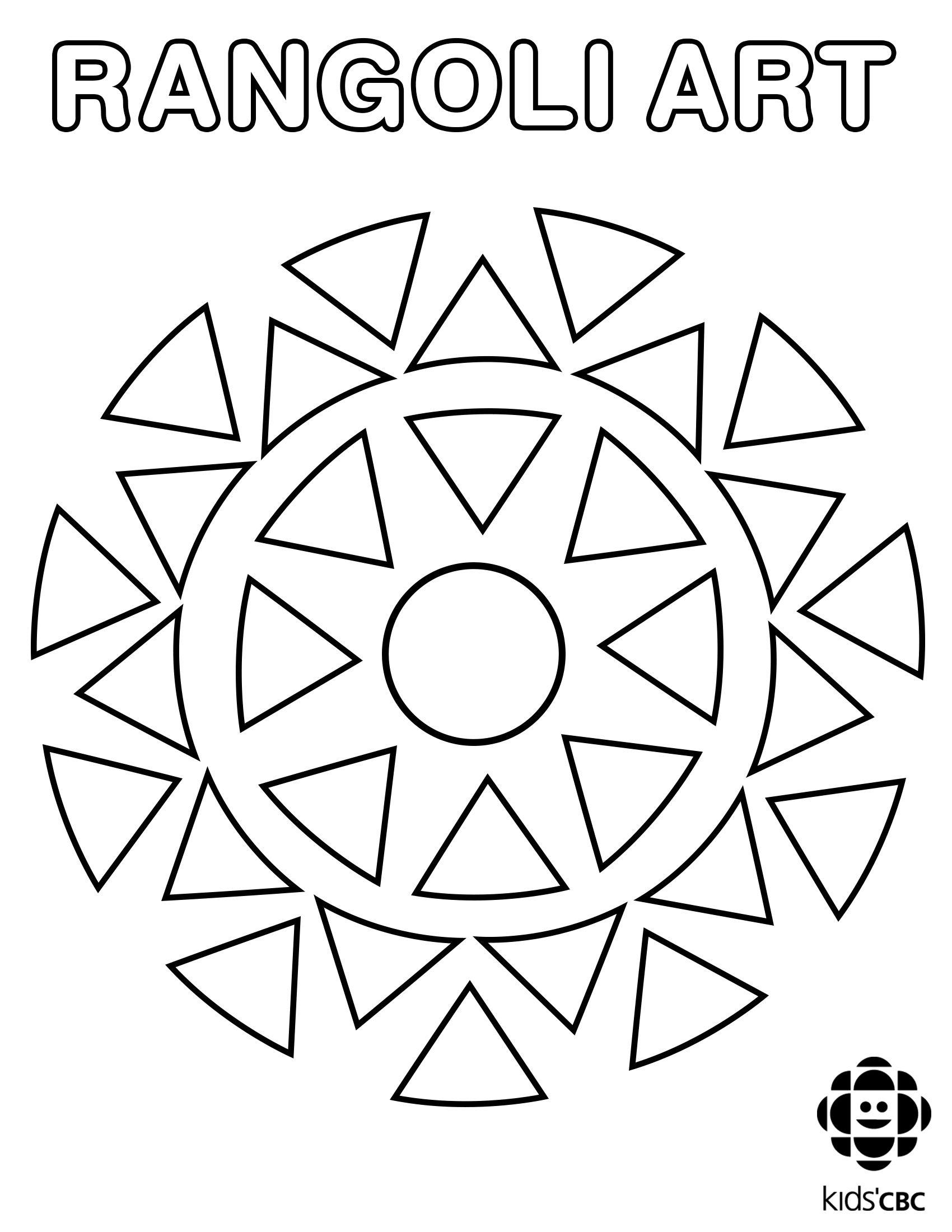 Image Result For Rangoli Patterns Black And White