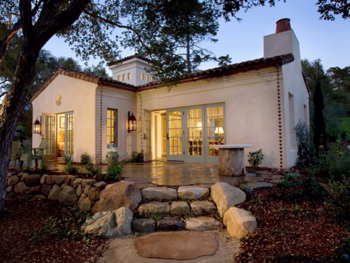 Spanish Colonial Cottage Spanish Colonial Revival