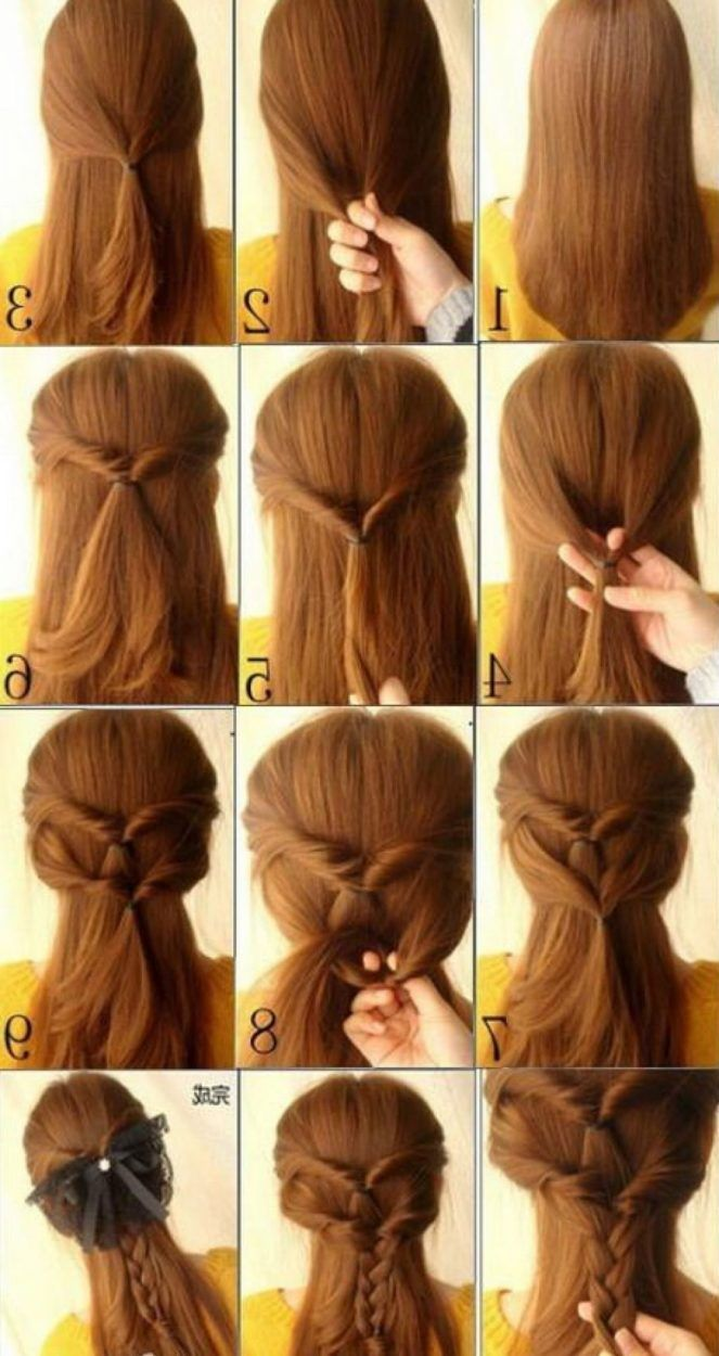 Simple Updos for Long Hair Cute Hairstyles For Pinterest