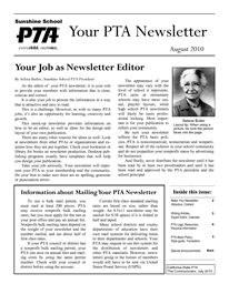 pta newsletters poemsrom co