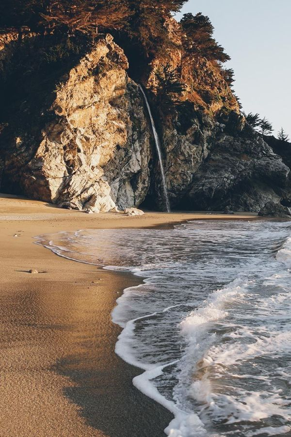 McWay Falls, Big Sur, CA. | Wilderness | into the wild ...