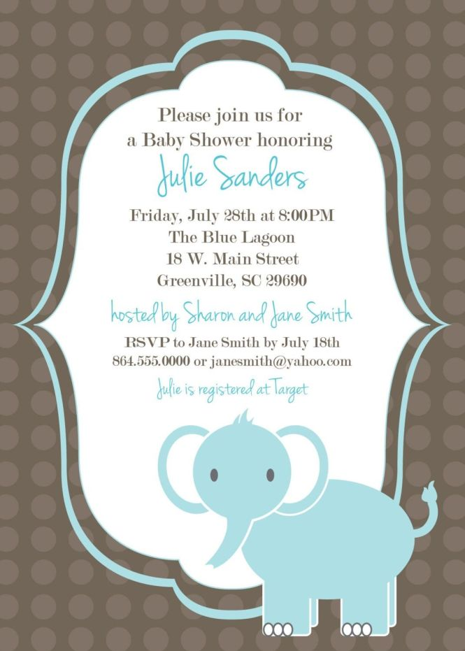 Make Your Own Babyshower Invitations Mycoffeepot Org