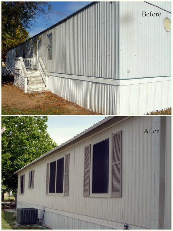 Mobile Home Exteriors On Pinterest Remodeling Mobile Homes Mobile Home Remodeling And Mobile