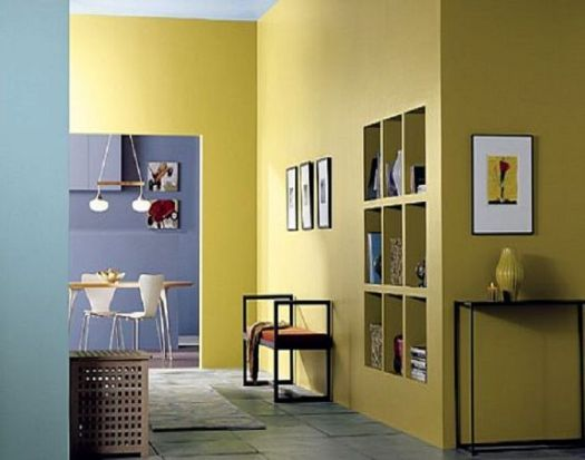 Selecting Interior Paint Color Wall Colors In Yellow