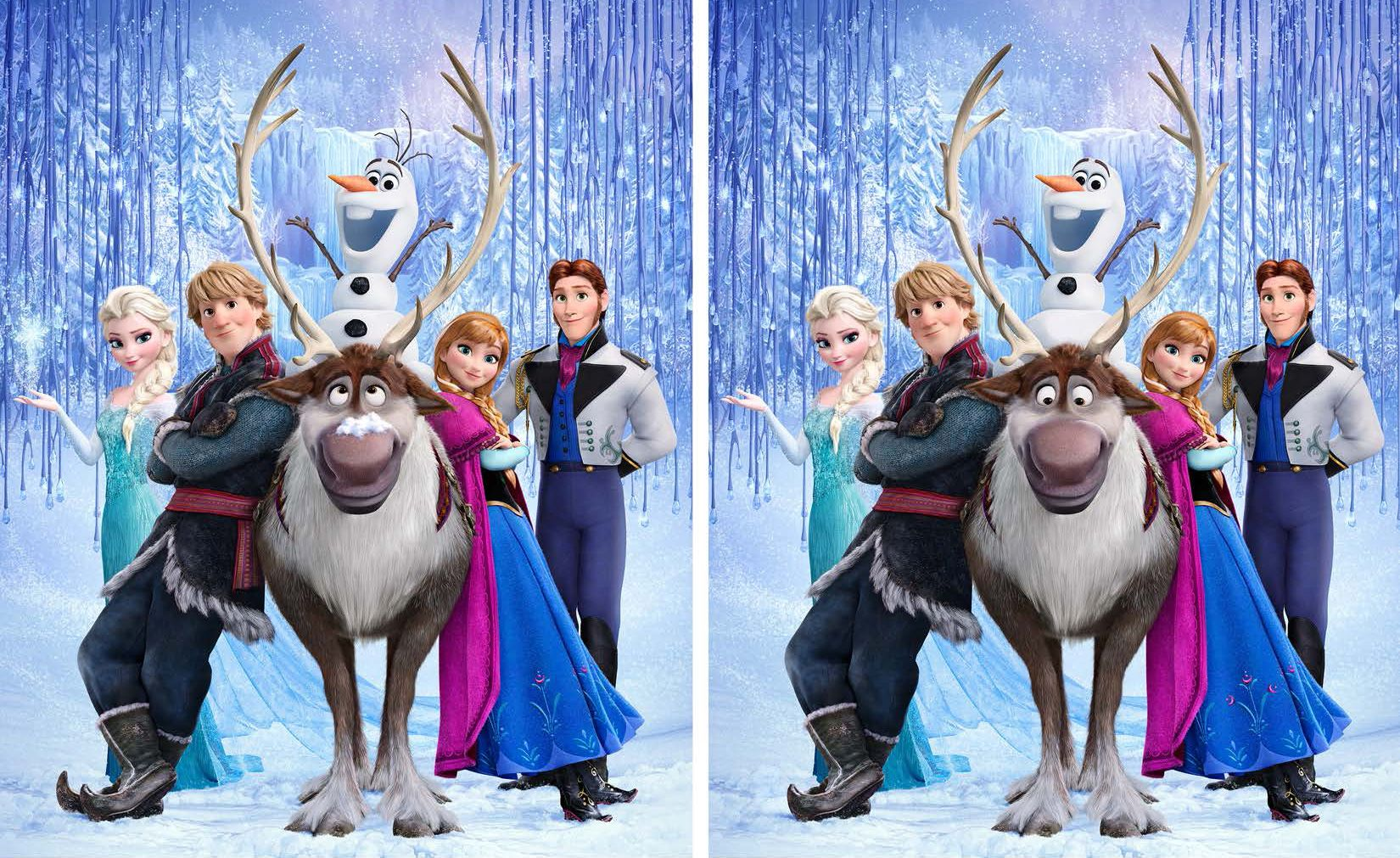 Spot The Difference Free Printables From Disney