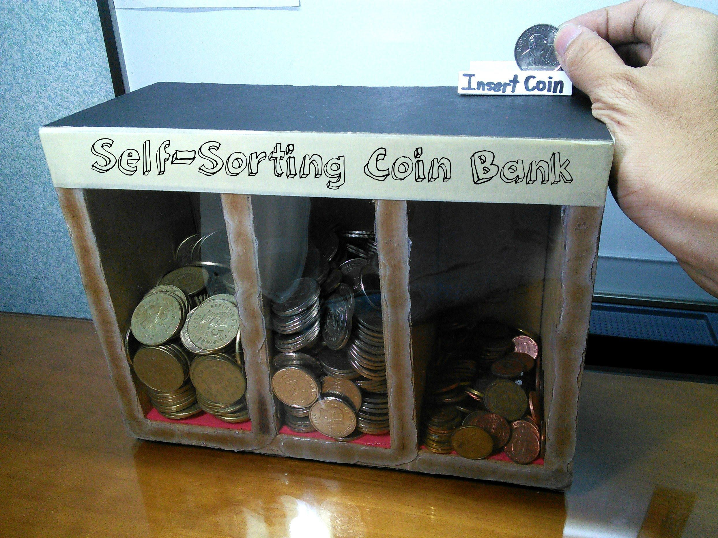 Diy Self Sorting Coin Bank