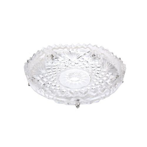 Bobeche Crystal 3 74 In With 10mm Inner Diameter Hole Crystalplace