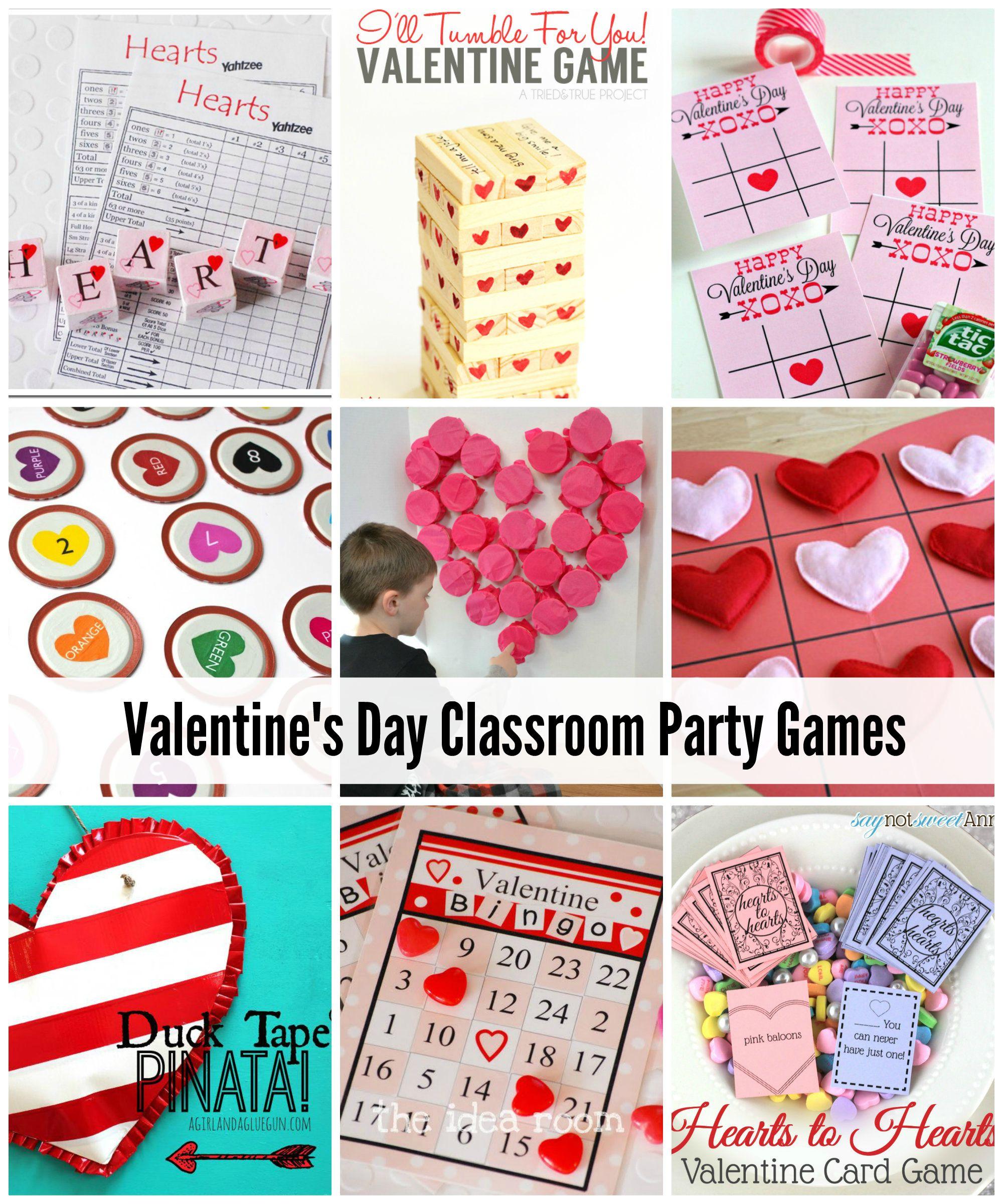Valentine S Day Classroom Game Ideas