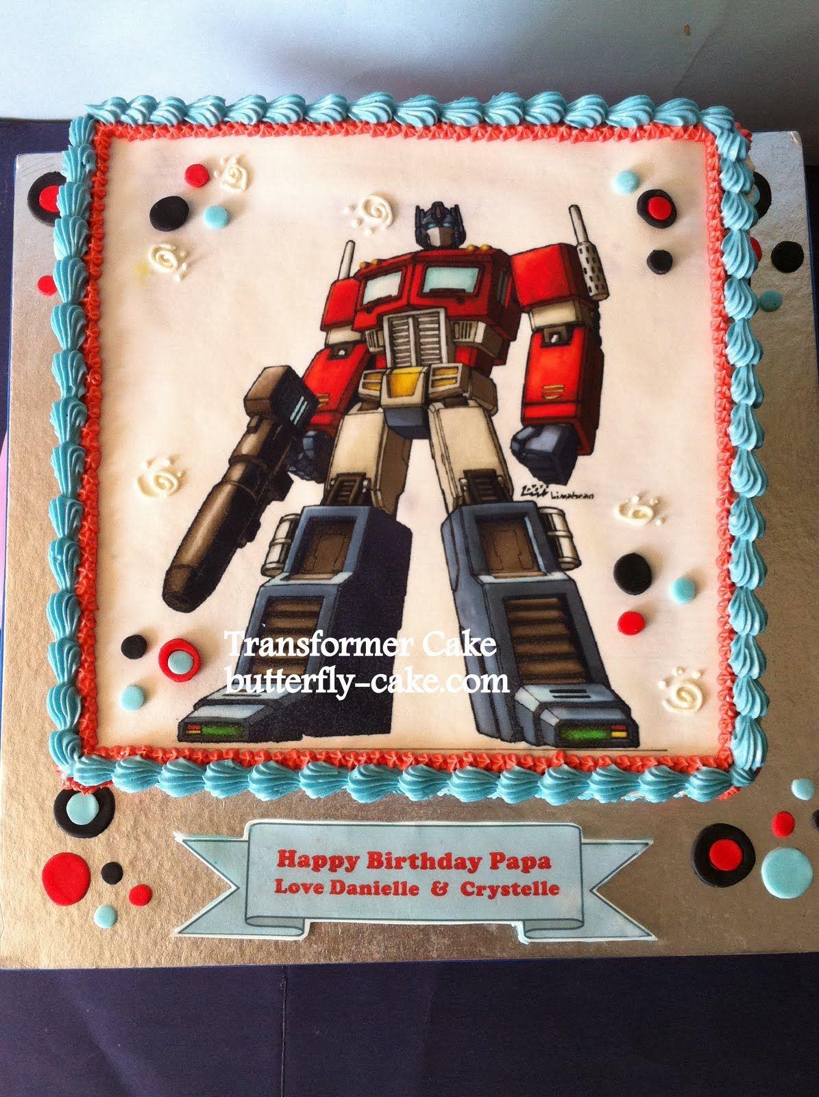 Optimus Prime Cake Ideas