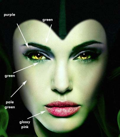 Maleficent makeup tutorial Halloween costumes