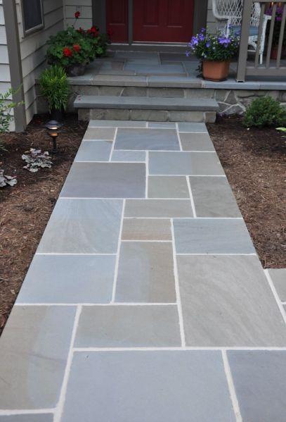 walkway paver patio designs Bluestone Walkway Designs - Bing Images | paver walkway