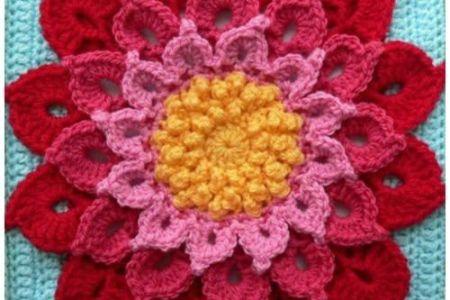 Granny Flower Crochet Pattern Flower Shop Near Me Flower Shop