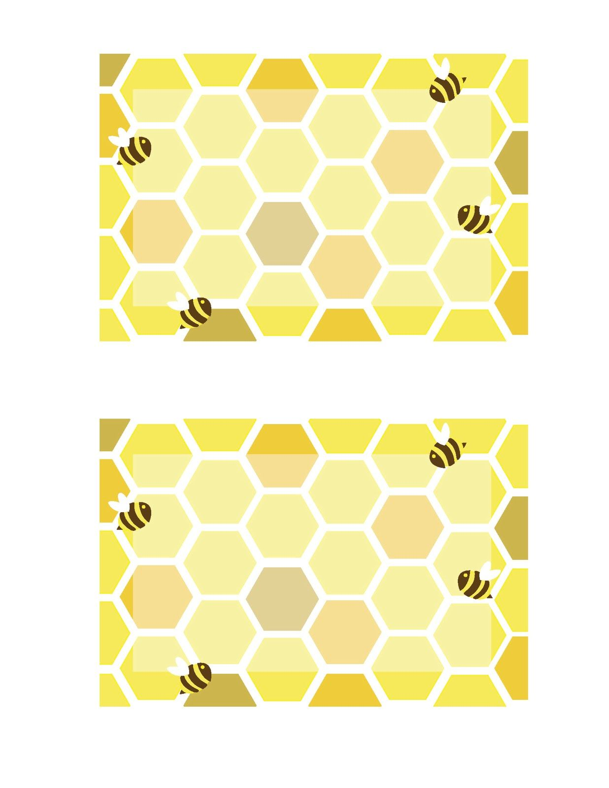 Honey Bee Invitation 2