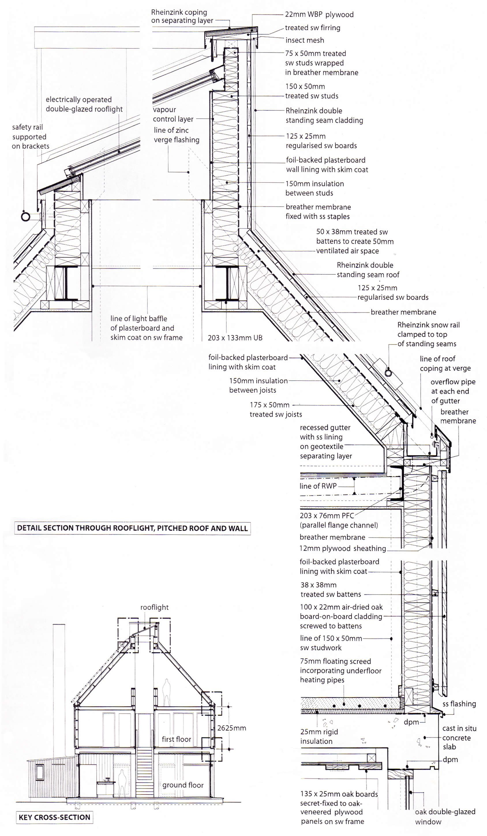 Two Storey Detached House Working Details