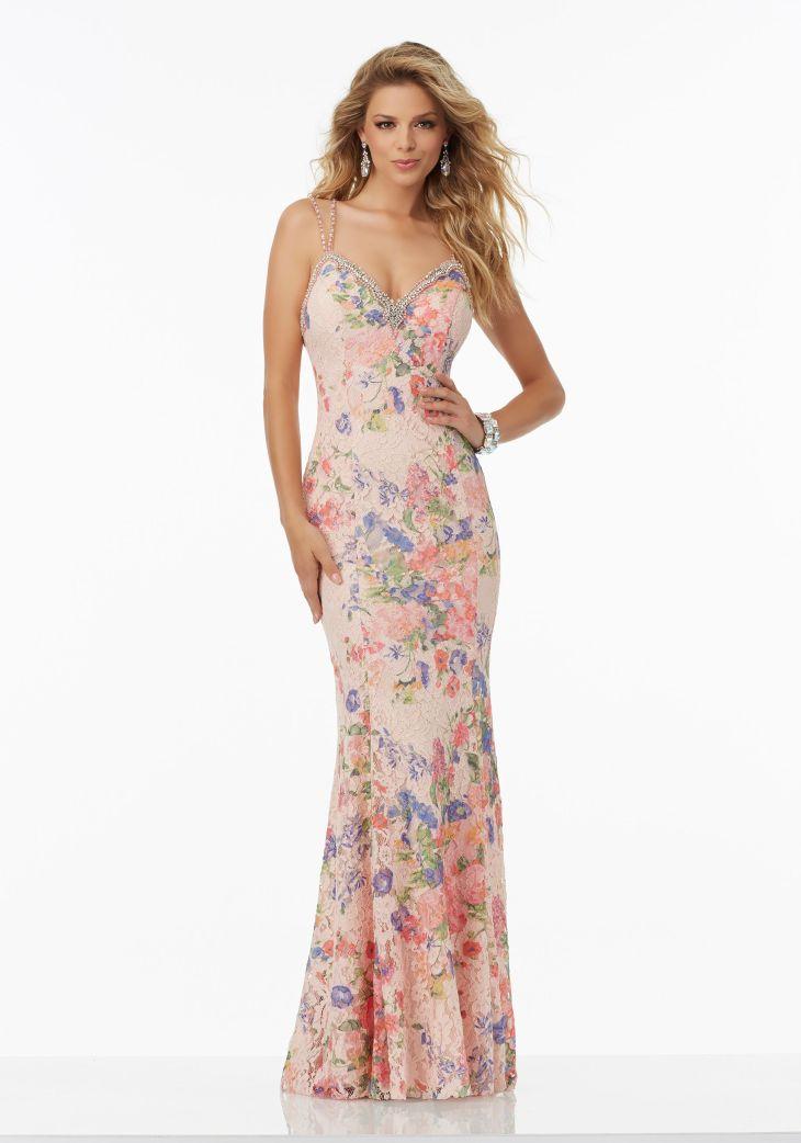 Prom Dresses by Morilee designed by Madeline Gardner Floral Printed