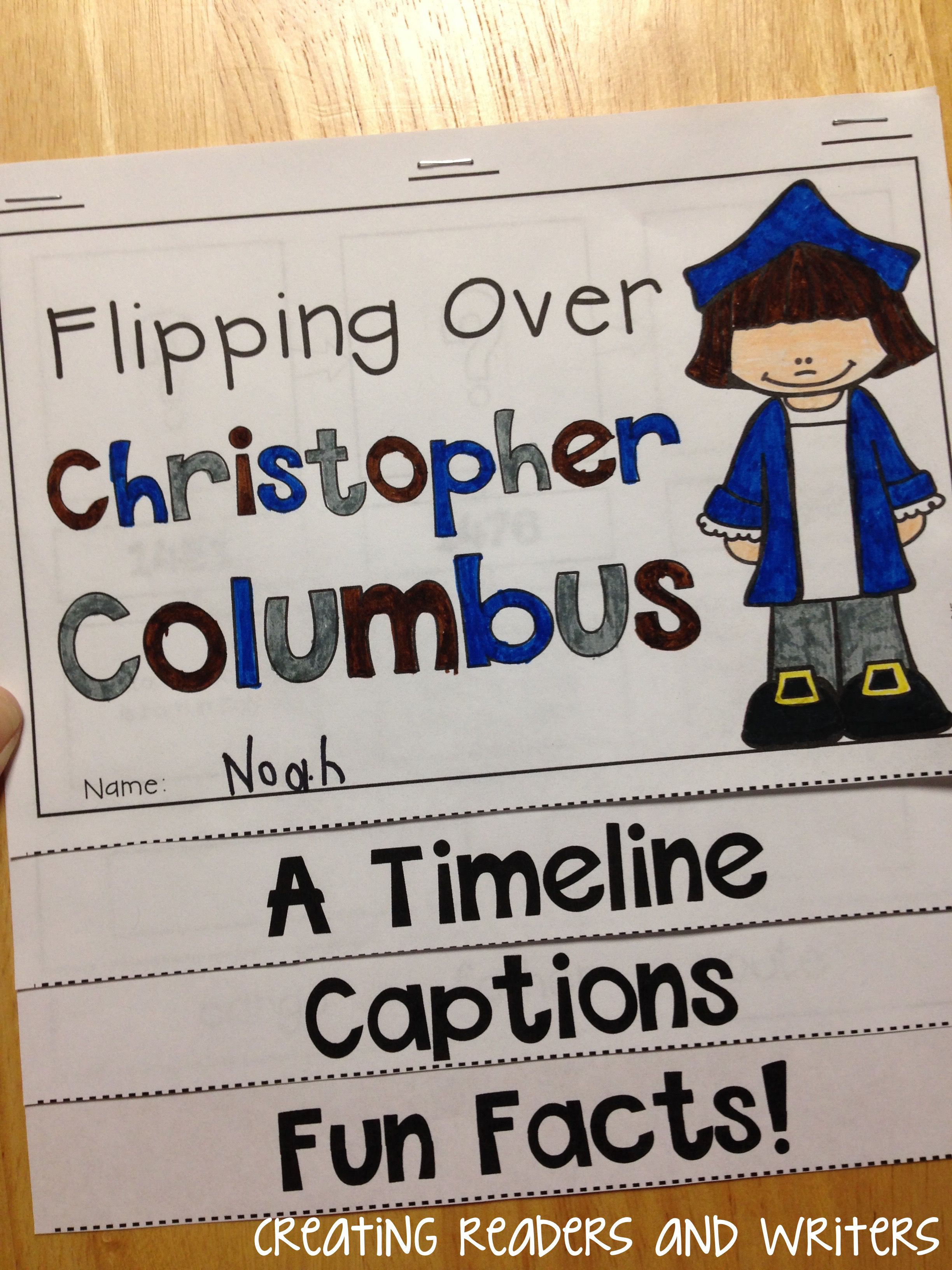 Flipping Over Christopher Columbus An Informational Flip