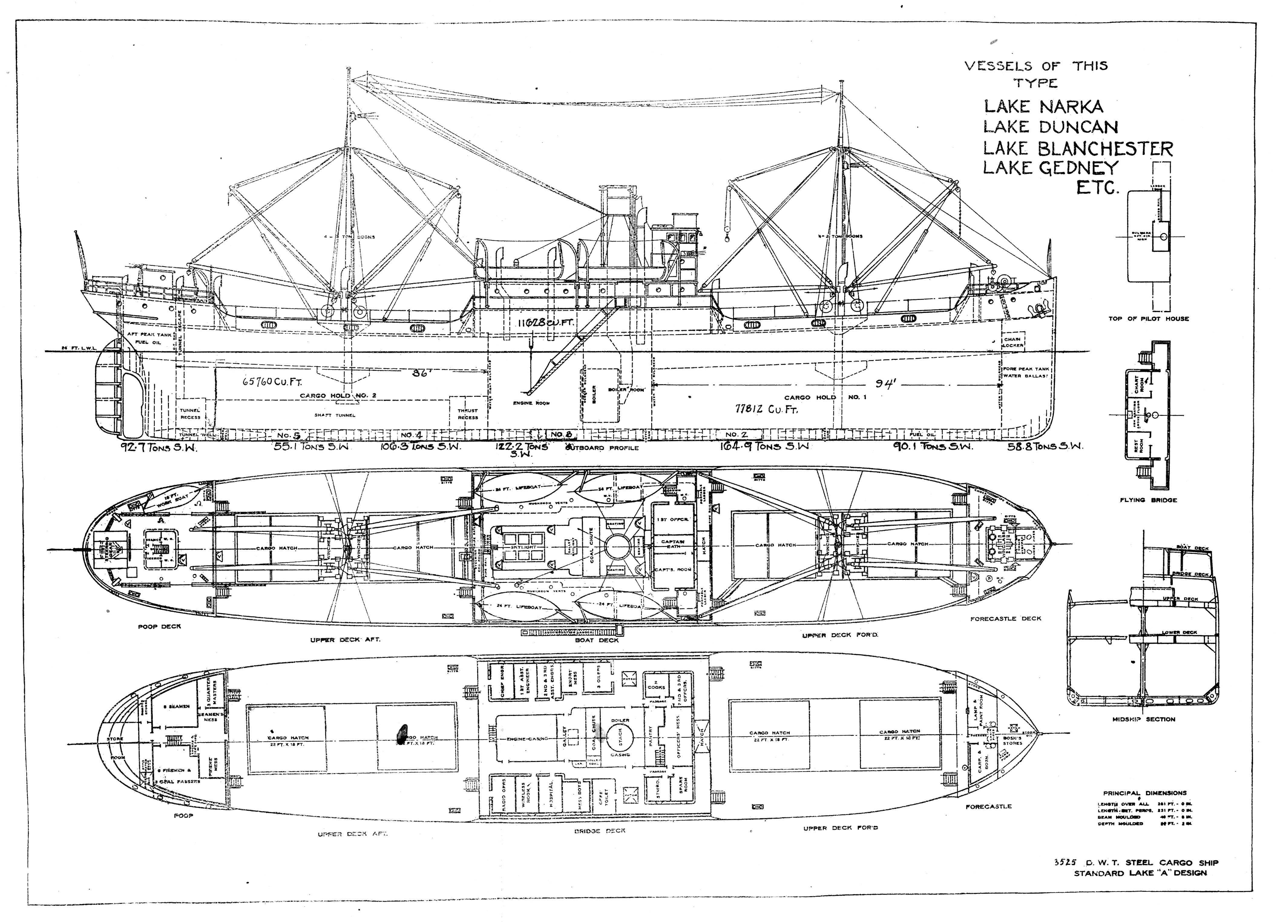 Vessel Plan