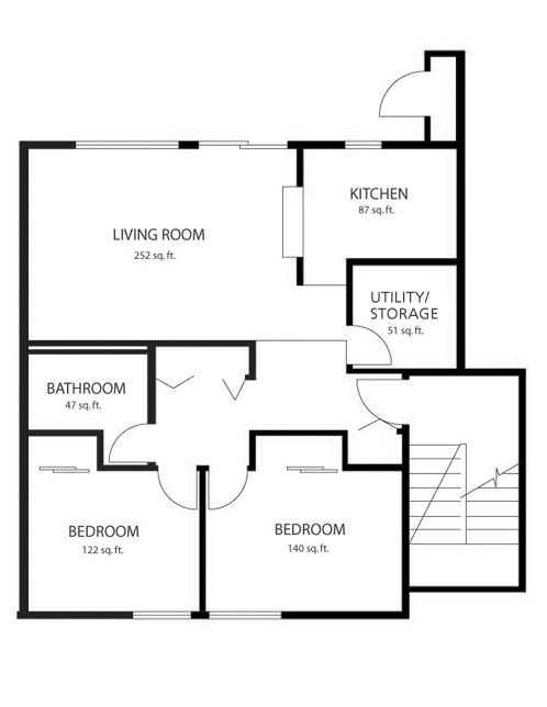 Electrical Wiring Diagram Of 3 Bedroom Flat