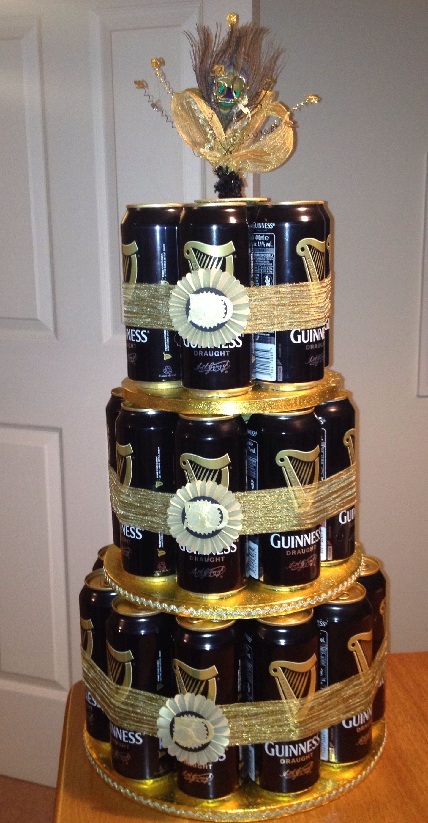 A Guinness Cake For A 50th Birthday Party Ideas