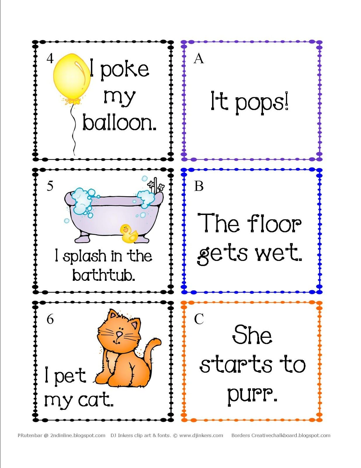 Cause And Effect 1st Grade