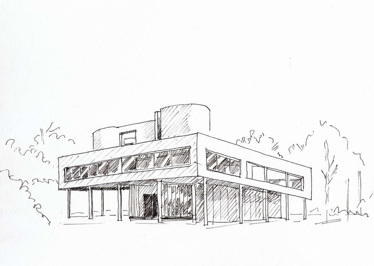 Illustration Croquis Architecture