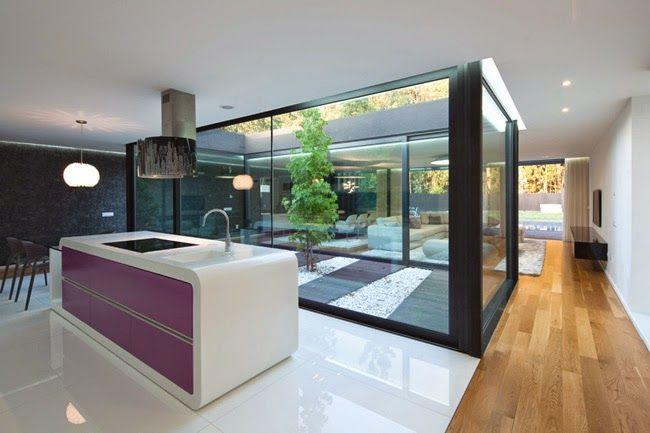 patios interiores de casas modernas - Buscar con Google ... on Interiores De Casas Modernas  id=77249