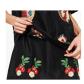 Zara embroidered dress zara black zara dresses and short sleeves