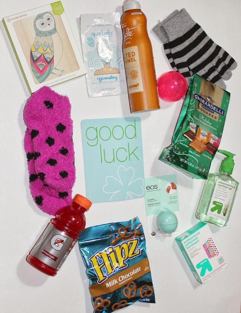 Good luck gift basket playpartypin gifts pinterest