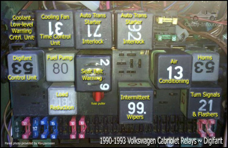 Volkswagen+cabriolet+1990+part+numbers+and+diagram