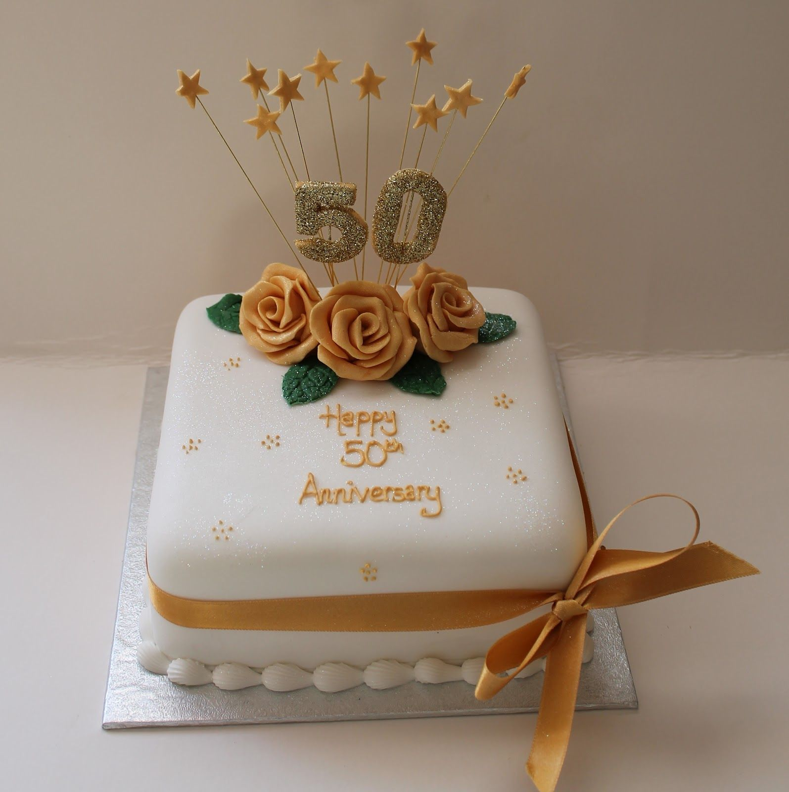 Best 50th Wedding Anniversary Cakes