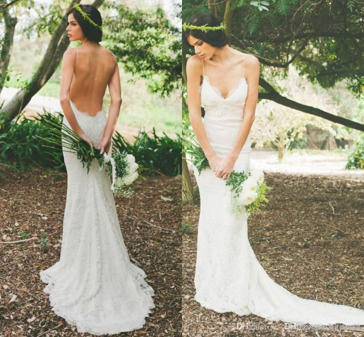 Image result for bohemian lace wedding dresses  Wed dressies