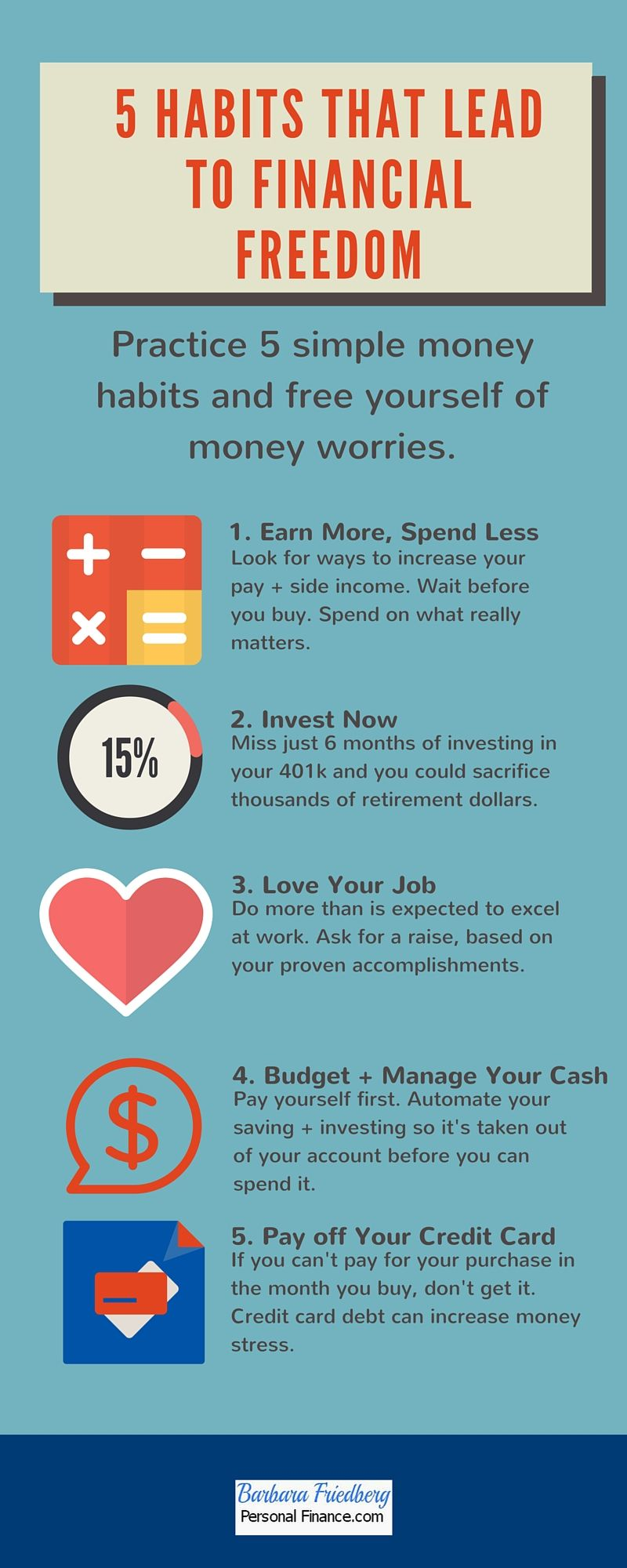 5 Habits To Help You Achieve Financial Freedom Simple Lifestyle Hacks Can Lead To A Successful