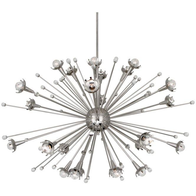 Robert Adler Sputnik Twenty Four Light Large Chandelier Contemporary Chandeliers