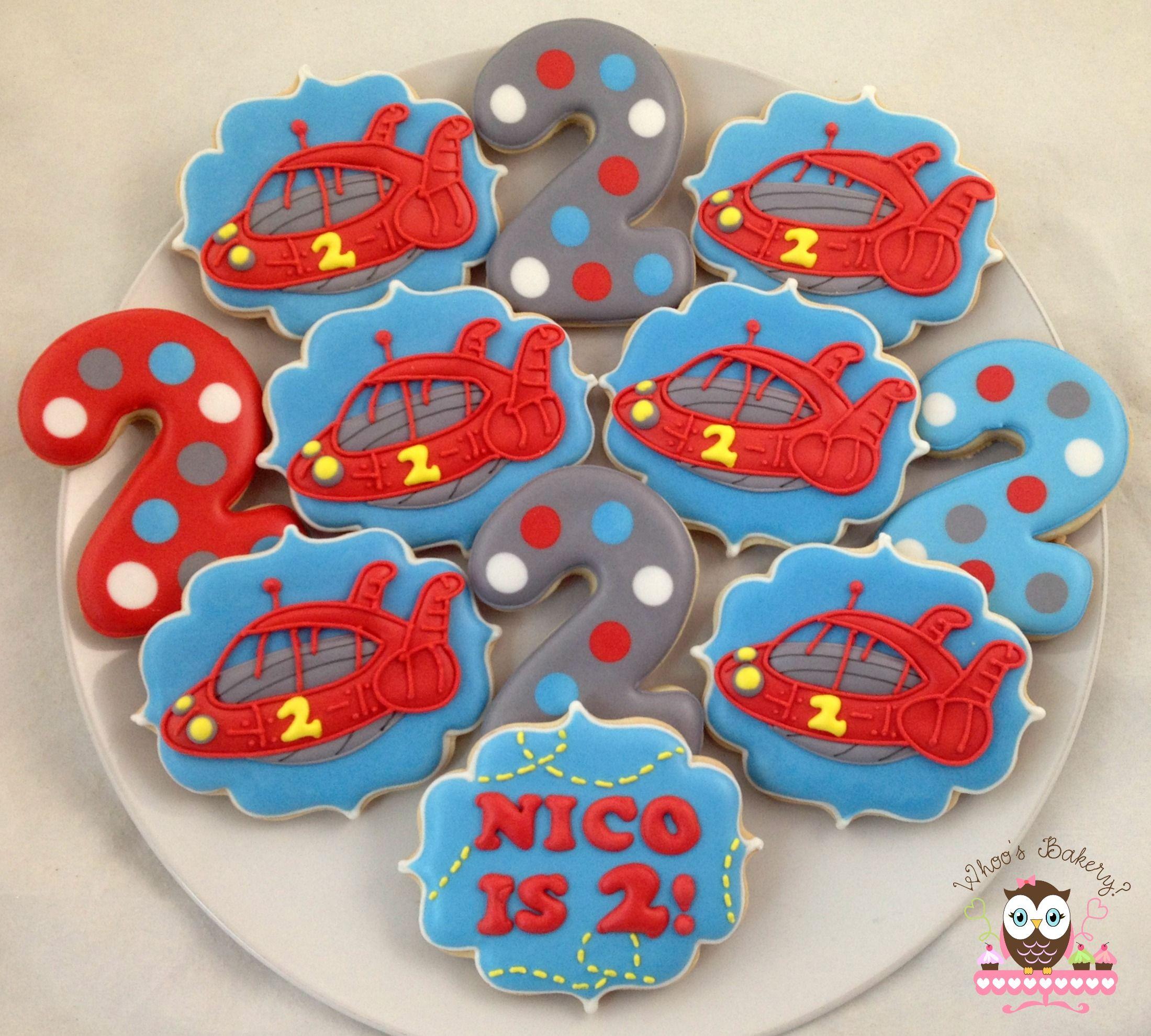 Little Einstein Cookies Spaceship Cookies Number Cookies