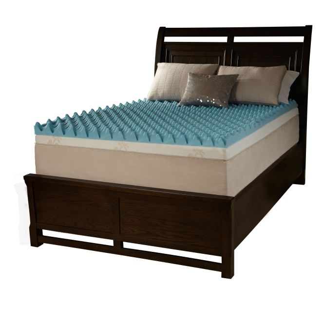 Beautyrest Loft Gel Memory Foam Mattress Topper Ping The Best Prices On Simmons Toppers