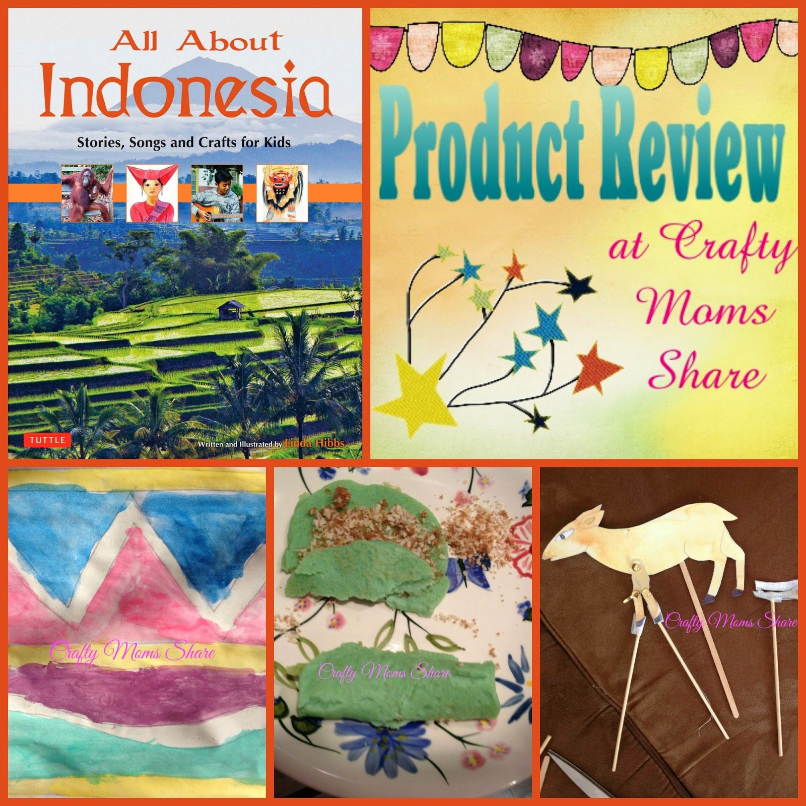Crafty Moms Share Book Review All About Indonesia
