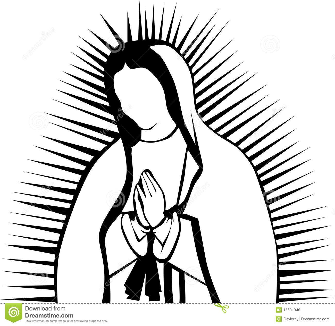Our Lady Of Guadalupe Clip Art Images