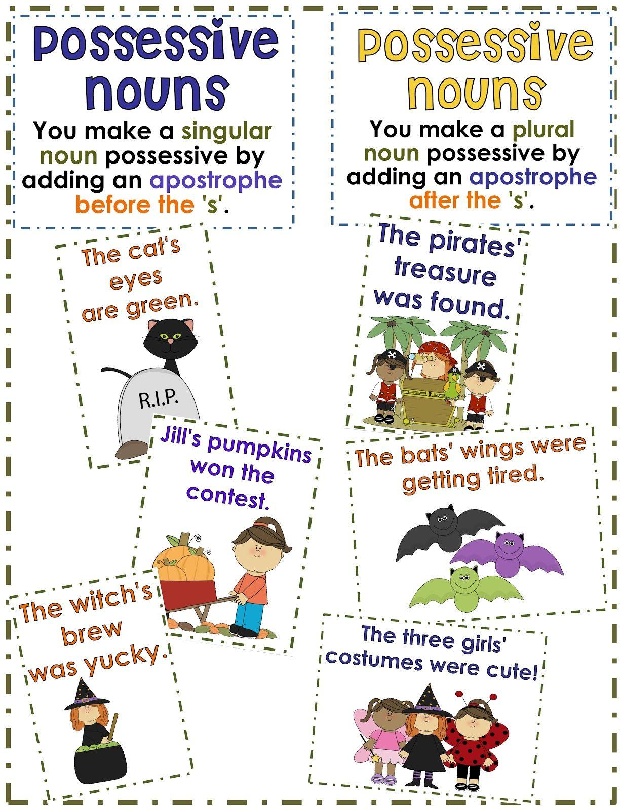 C2 Week 18 Possessive Nouns 2nd Grade Smarty Arties Taught