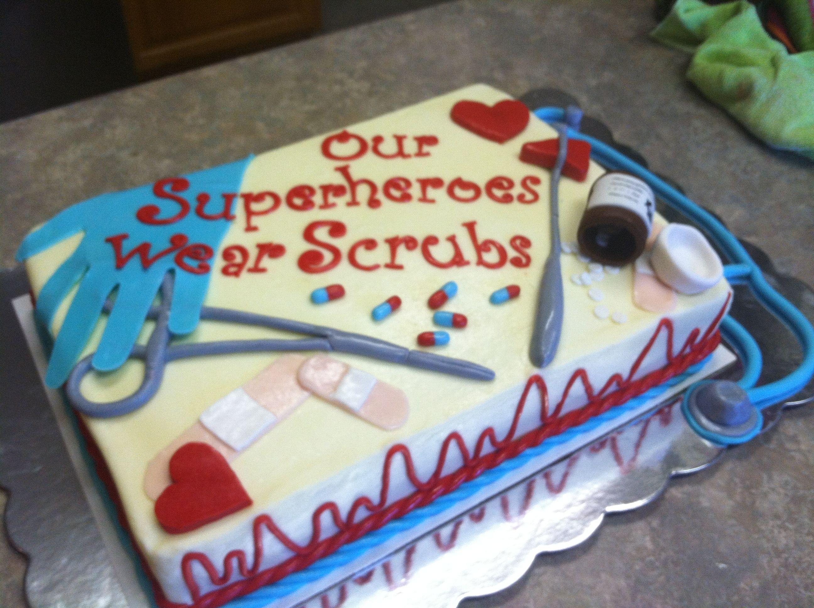 Cake For Nurses Appreciation Week