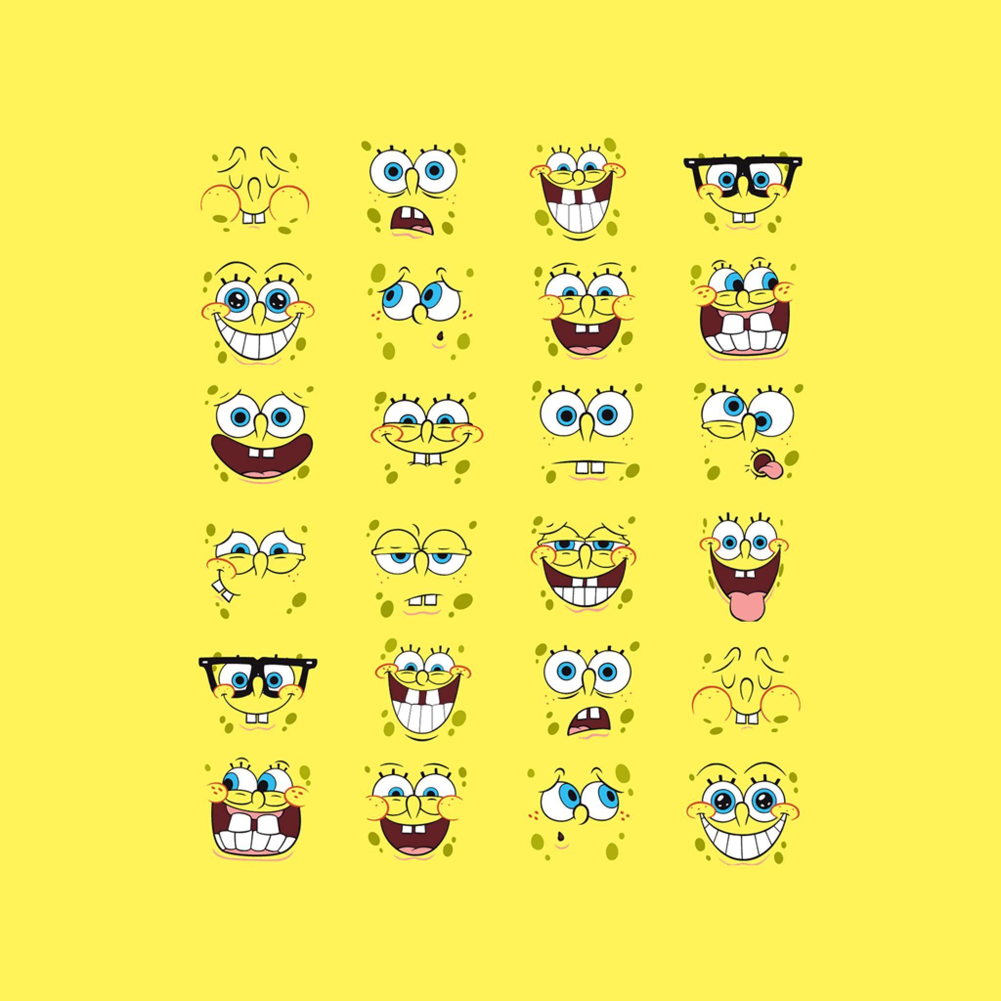 Spongebob Squarepants Emotions