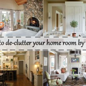 How to get rid of Clutter in the Home   Clutter  Decluttering and Room How to de clutter your home room by room