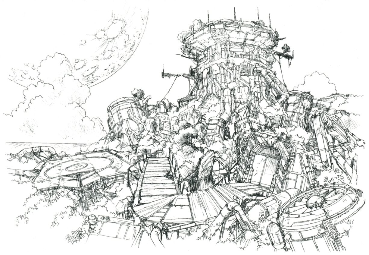 Overwatch Game Concept Art