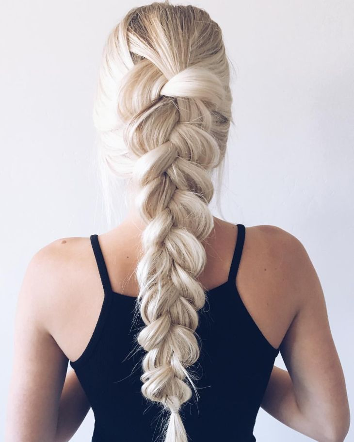 Hair Inspiration Aspyn Ovard French Braid Simple yet beautiful