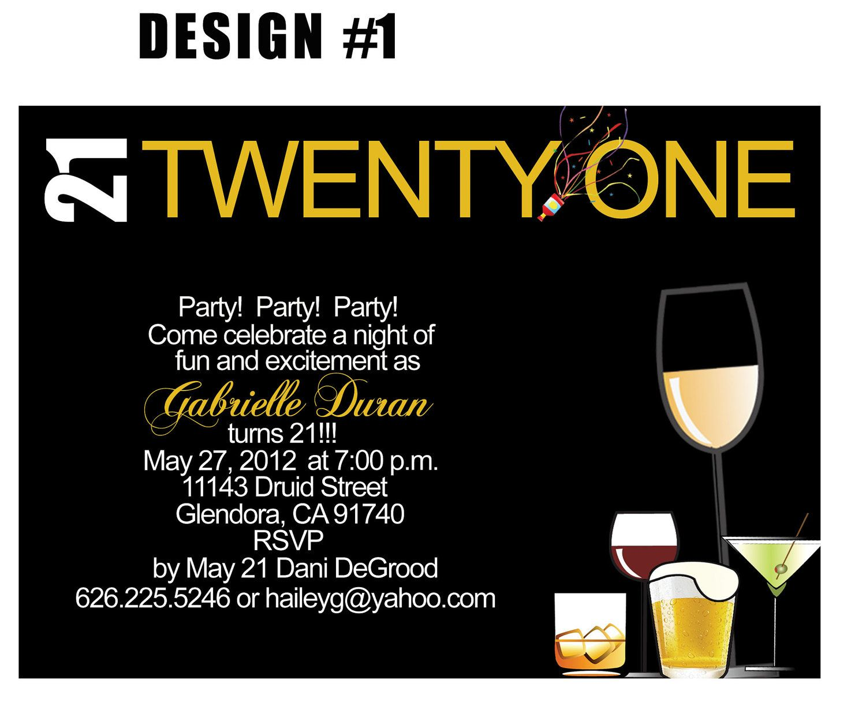 21st Birthday Invitations Online Free Inviviewco