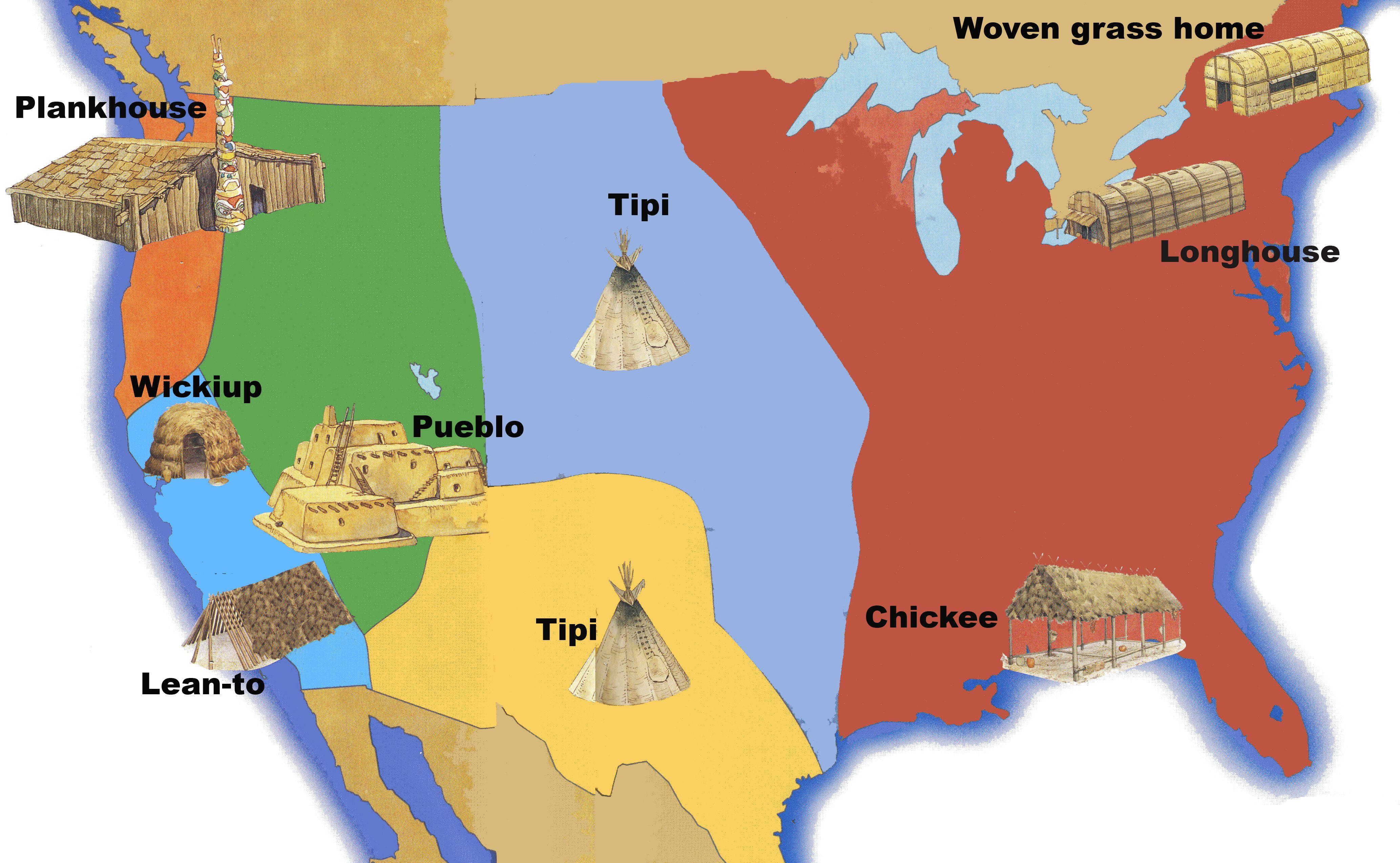 Native American Homes Us History