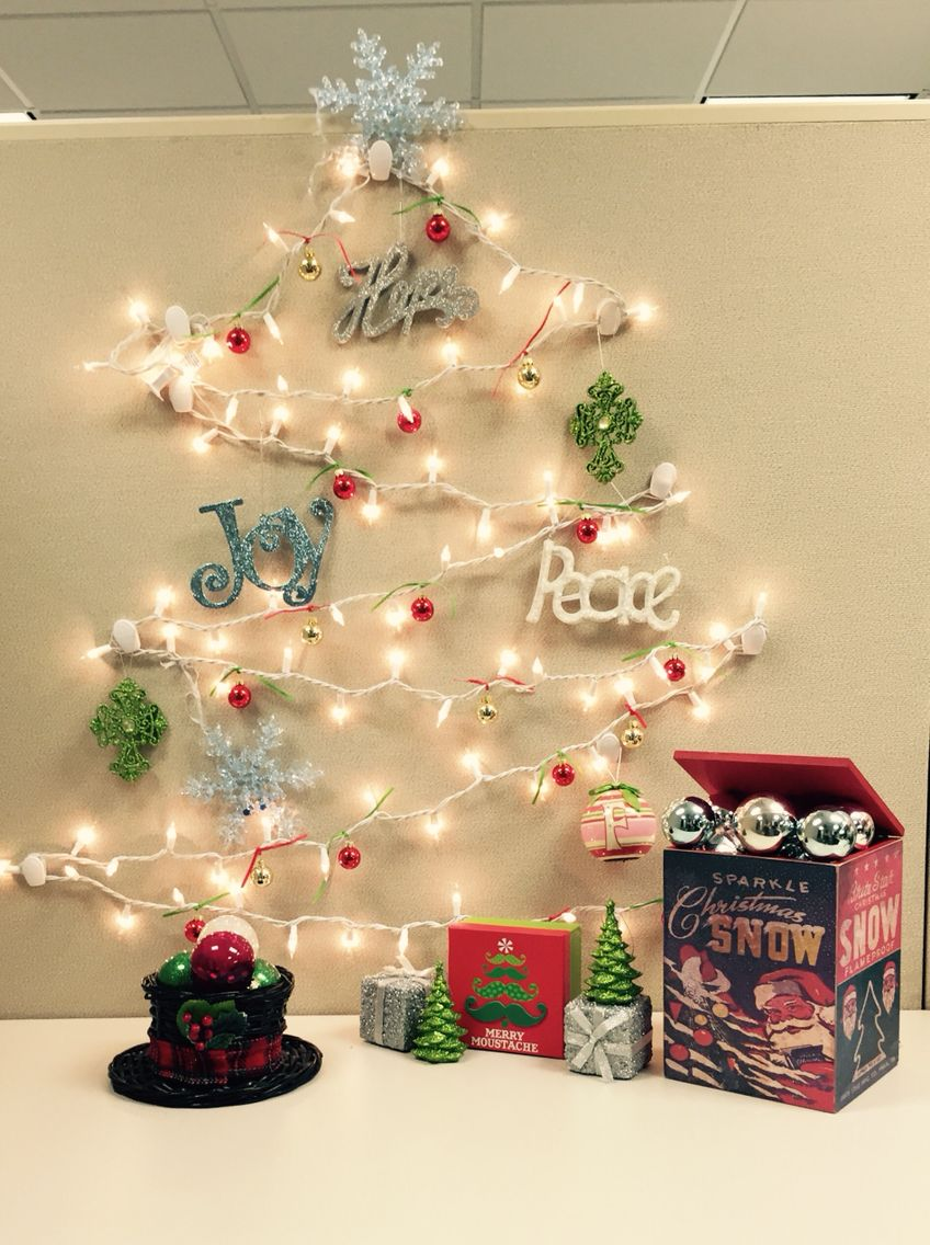 Diy Office Christmas Decorating Ideas Psoriasisguru Com