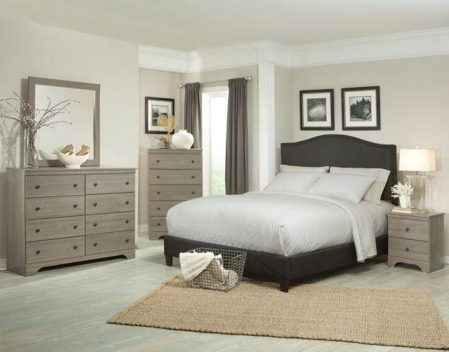 Ornate Wooden IKEA Bedroom Transitional Furniture Sets ...