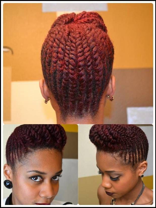 This Tutorial Is On YouTube Named Two Strand Flat Twist