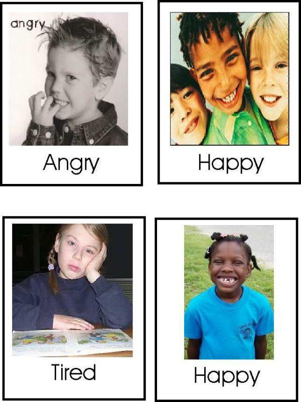 learningenglish-esl: FEELINGS FLASHCARDS   Emotions ...